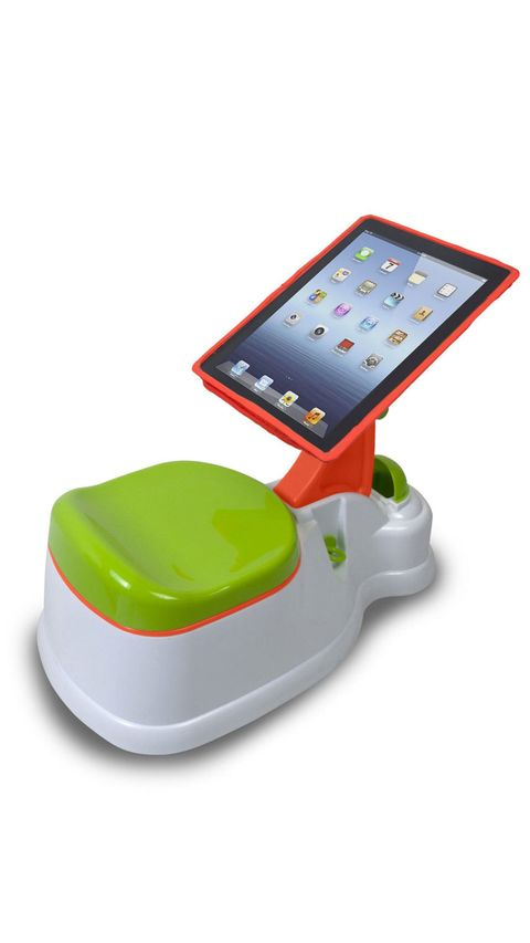Target potty training device