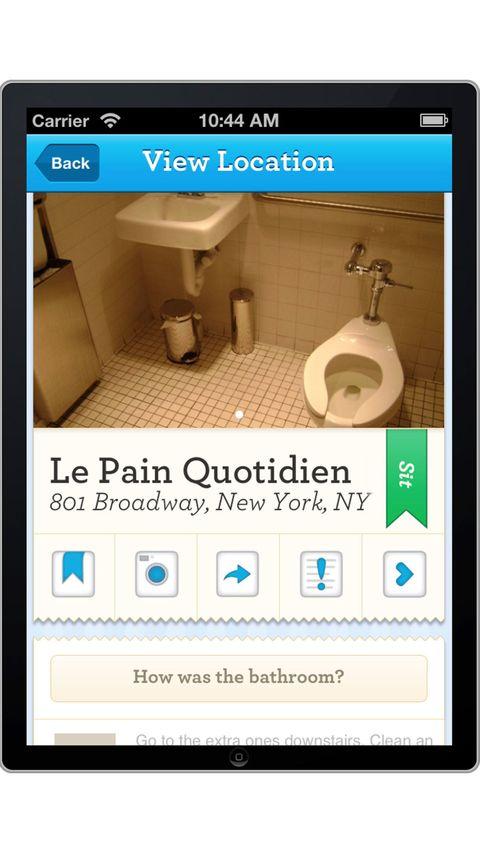 SitOrSquat Restroom Finder app