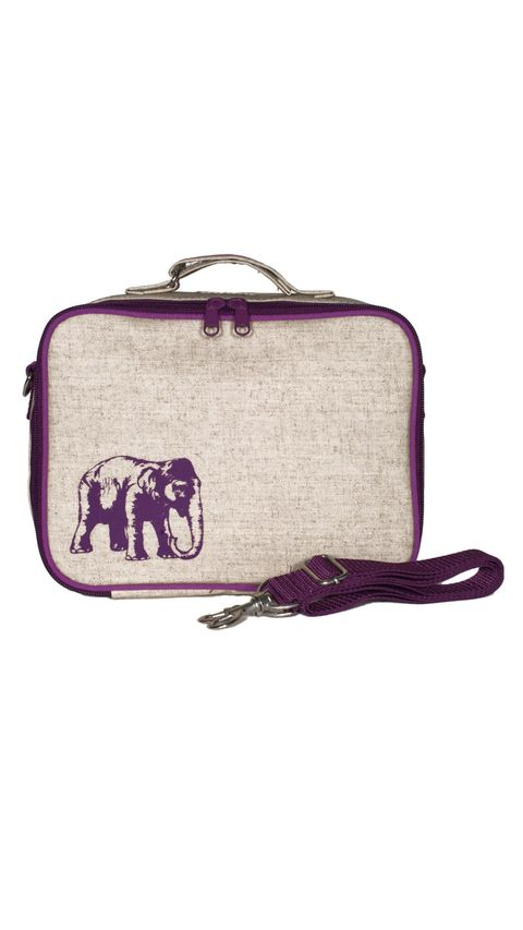 SoYoung Purple Elephant Lunch Box