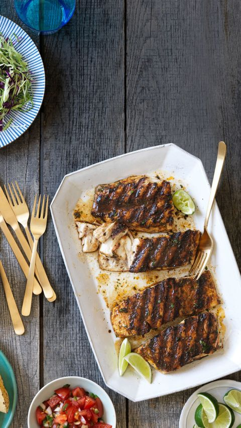 Surfer-style Mexican grilled fish recipe