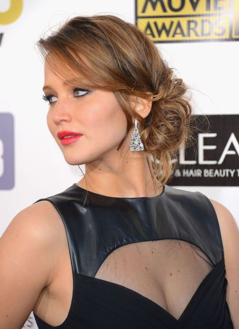 Jennifer Lawrence, Date Night Hairstyles