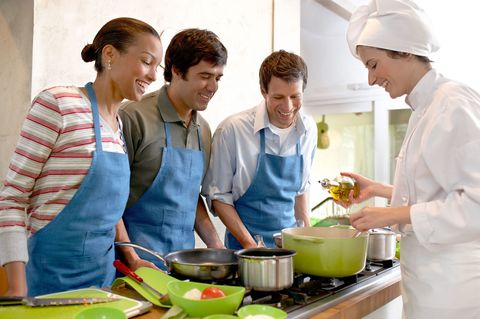 Host an in-home cooking class