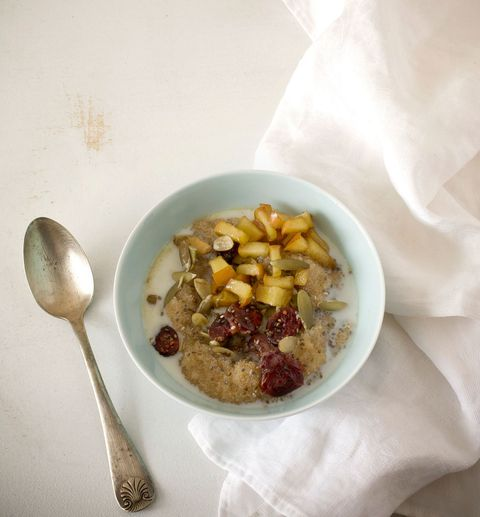 amaranth breakfast bowl