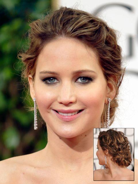 symlaleadde: celebrity updo hairstyle