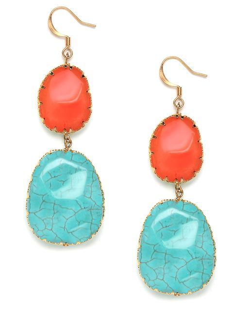 southwest boho drop earrings