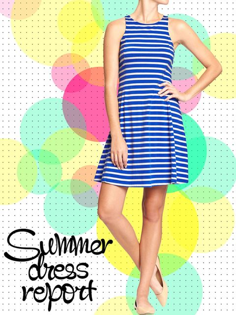 Clothing, Blue, Dress, Yellow, Green, Pattern, Shoulder, Joint, One-piece garment, Style,
