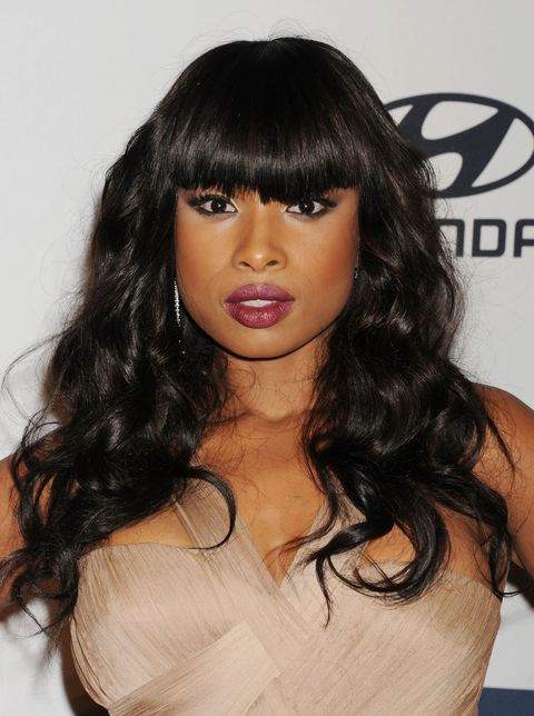 Jennifer Hudson with big hair