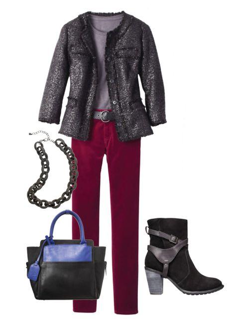 winter fashion outfit idea