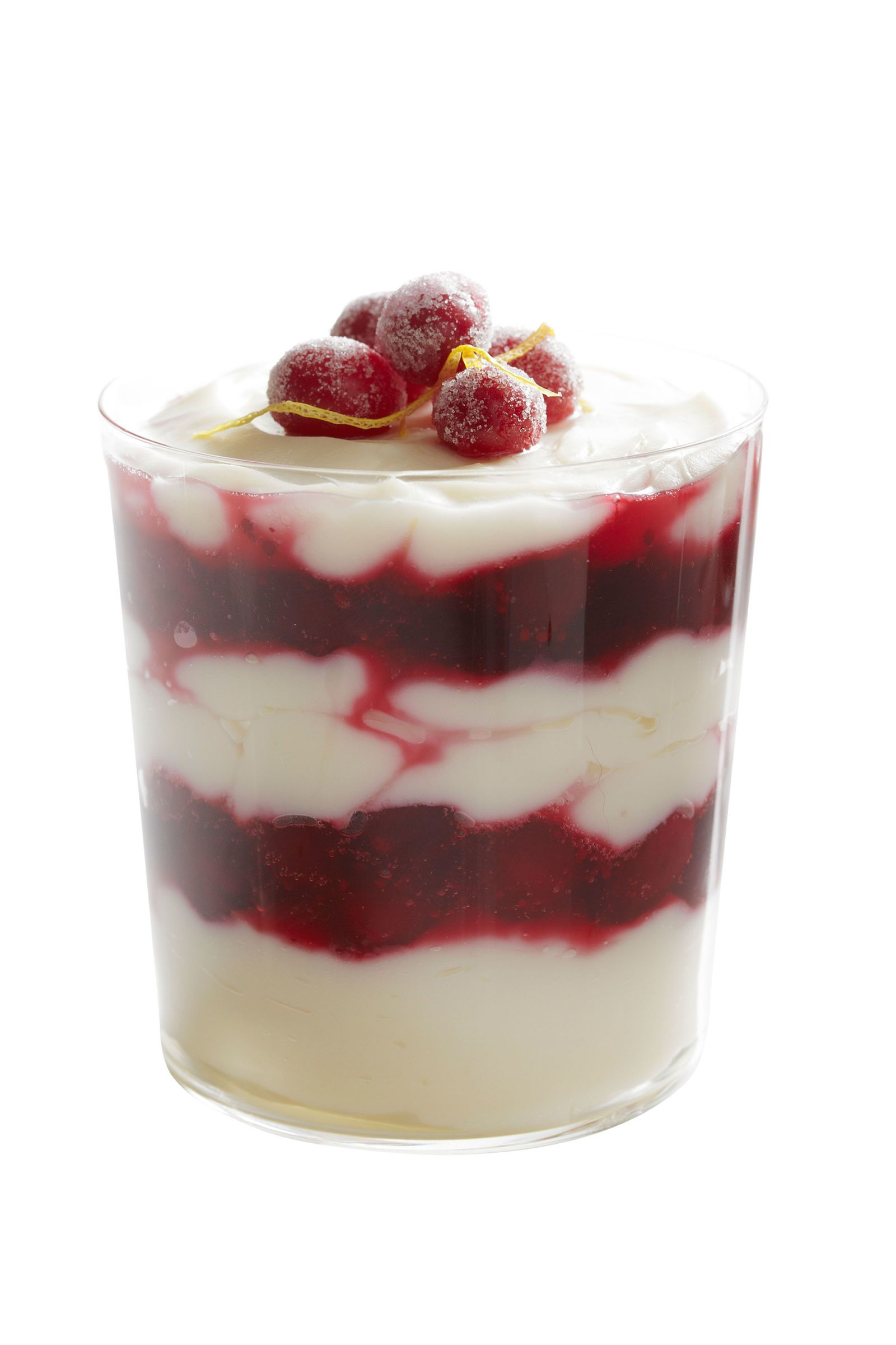 Cranberry-lemon pudding recipe
