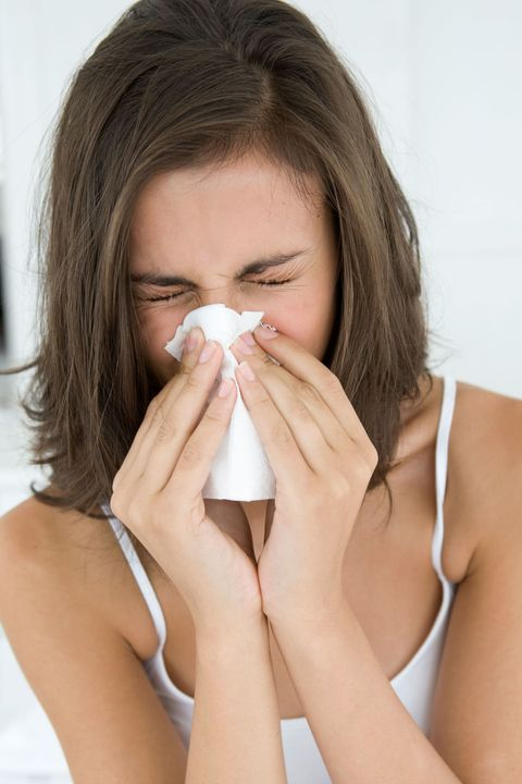 You're programmed to sneeze every two minutes