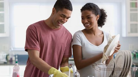 swap chores with your husband