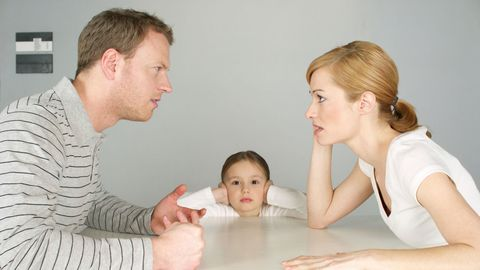 The mom of his kids is causing a conflict in your marriage