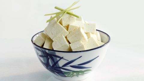 bowl of tofu