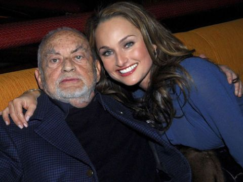 giada de laurentiis with her late grandfather