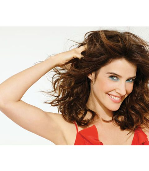 cobie smulders happy makeup