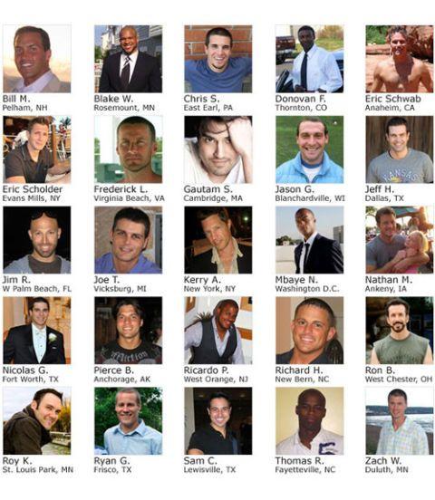 Hot Husbands 2012 Finalists