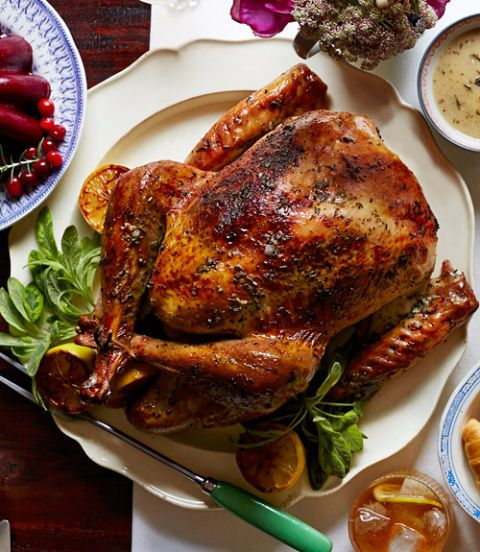 herb and citrus butter roasted turkey