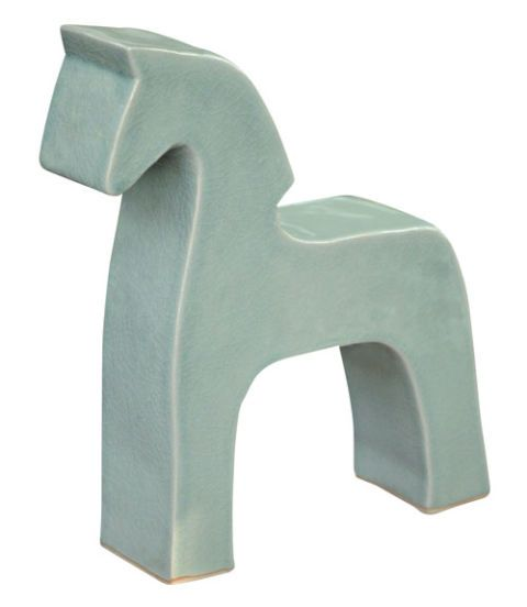 Novica horse tabletop sculpture