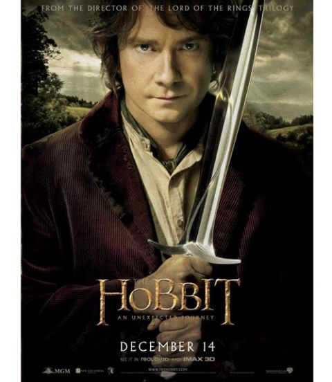 hobbit, martin freeman, holiday movies