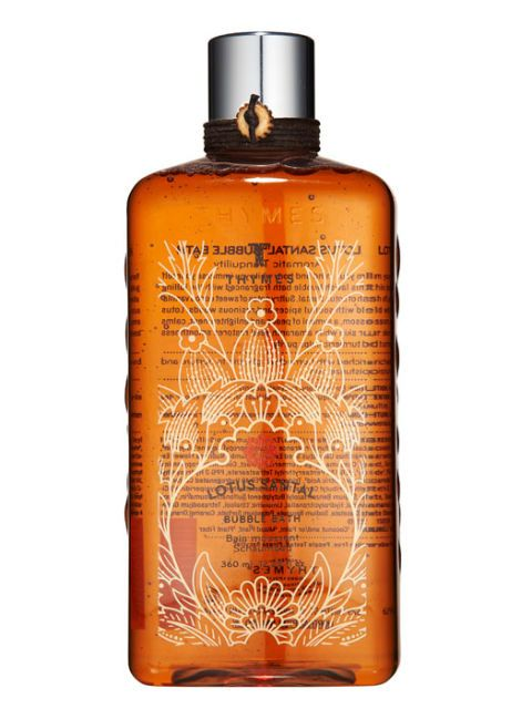 Thymes Lotus Santal Bubble Bath