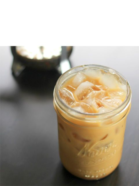 sweet cinnamon iced coffee