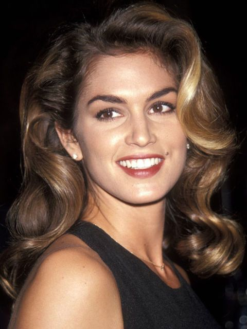 cindy crawford full brows