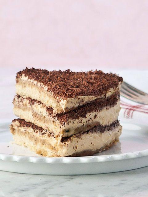 slice of tiramisu cake