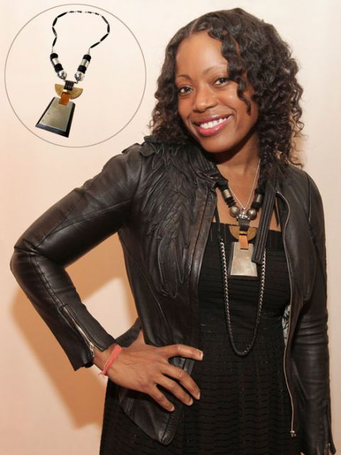 tracy reese and necklace