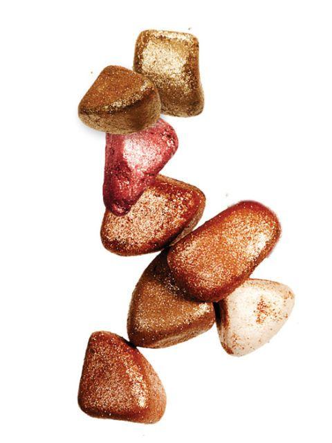 bronze highlighter makeup rocks