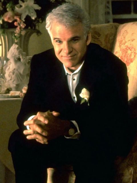 steve martin as george banks in father of the bride