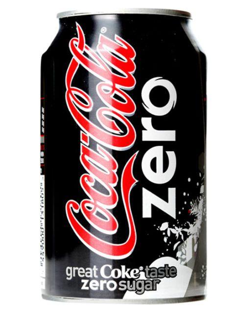 can of coke zero
