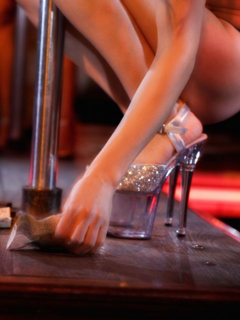40 year old women stripping