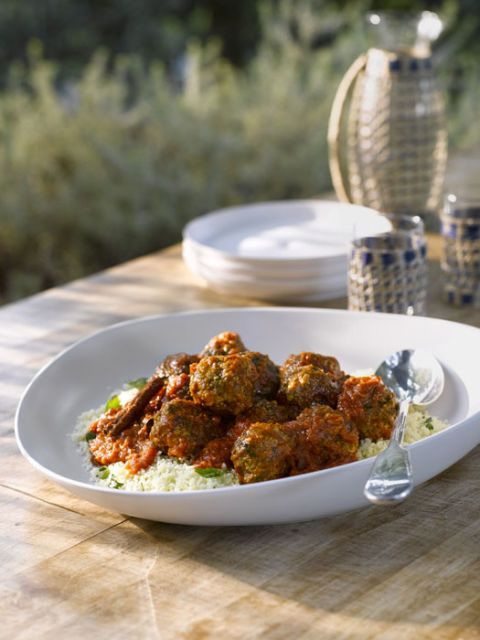 Sweet and Spicy Greek Meatballs recipe