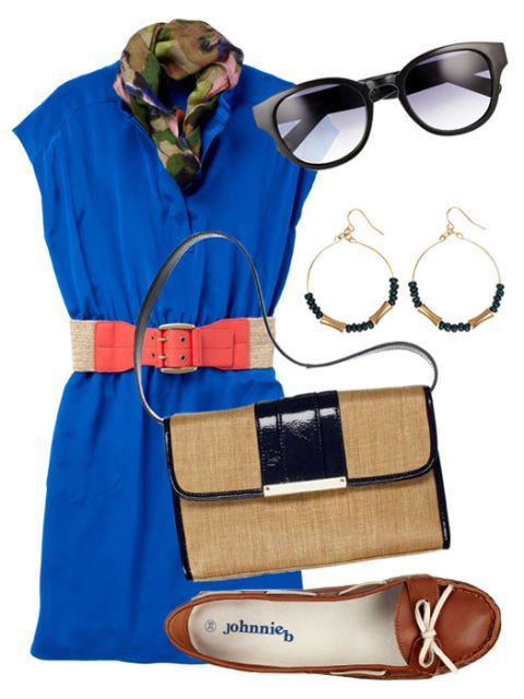tunic dress with belt