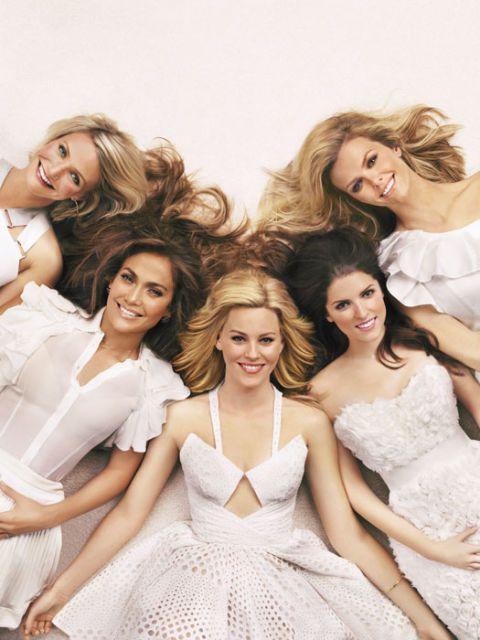 Jennifer Lopez, Brooklyn Decker, Anna Kendrick, Elizabeth Banks, Cameron Diaz