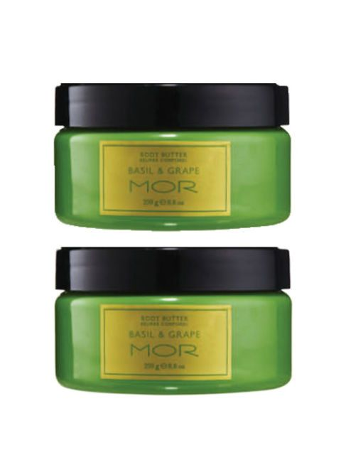 Mor Body Butter Duo in Basil & Grape