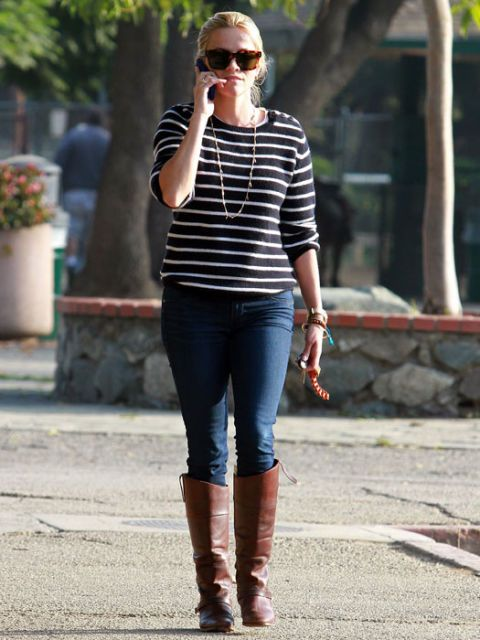 Reese Witherspoon, mom fashion