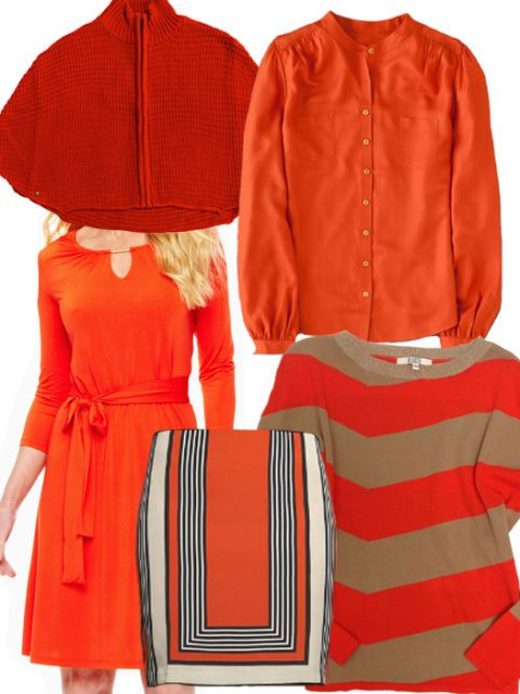 Colorful Clothes for the Dead of Winter - Orange