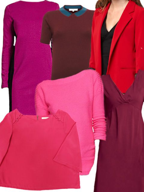 Colorful Clothes for the Dead of Winter - Red Pink