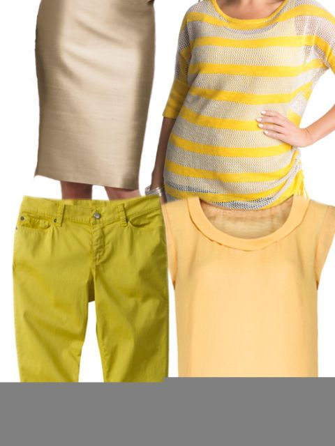 Colorful Clothes for the Dead of Winter - Yellow