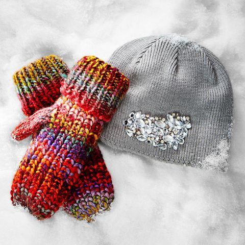 hats and gloves