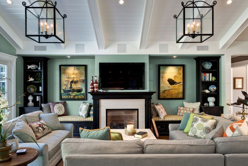 Family Room Decor Dream Living Room Ideas - Family room idea
