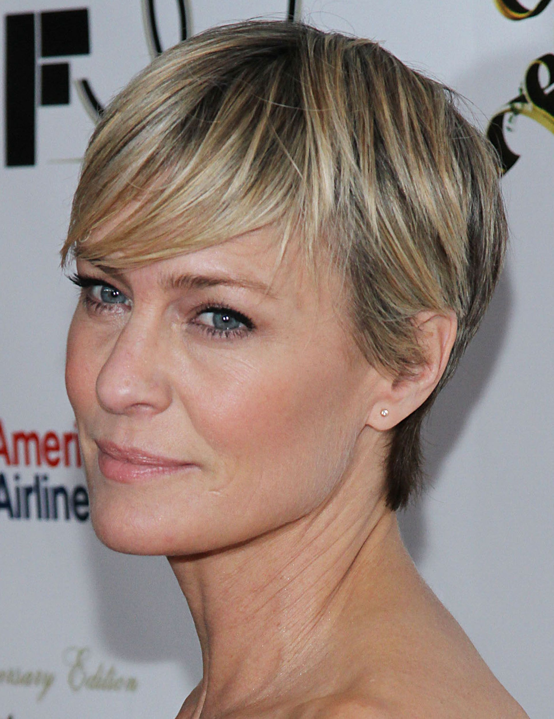 Robin Wright Haircut Back View Hair Color Ideas And Styles For 2018