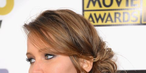 Jennifer Lawrence, Date Night Hairstyles
