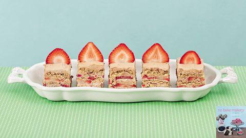 Strawberry Nutella Icebox Cake