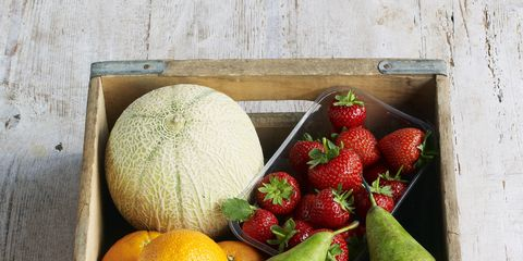 Eat fruit—and only fruit—before noon