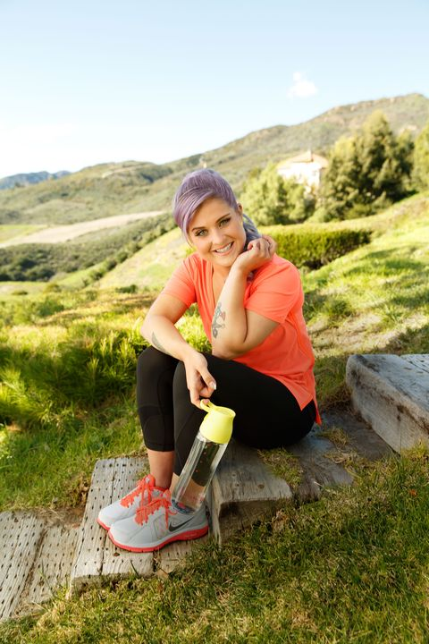 kelly osbourne piloxing workout