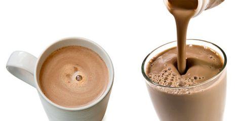 chocolate milk hot chocolate