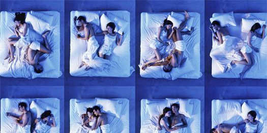 Couple Sleeping Positions - Meaning of Sleep Positions for