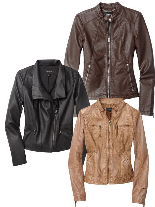 How to Wear a Leather Jacket - Best Leather Jackets for Women